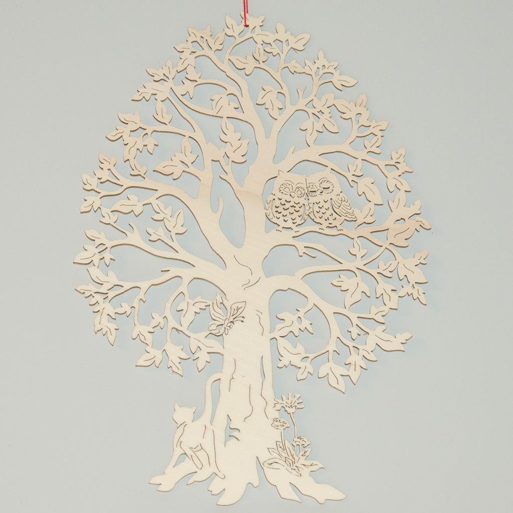 Eulen auf Baum