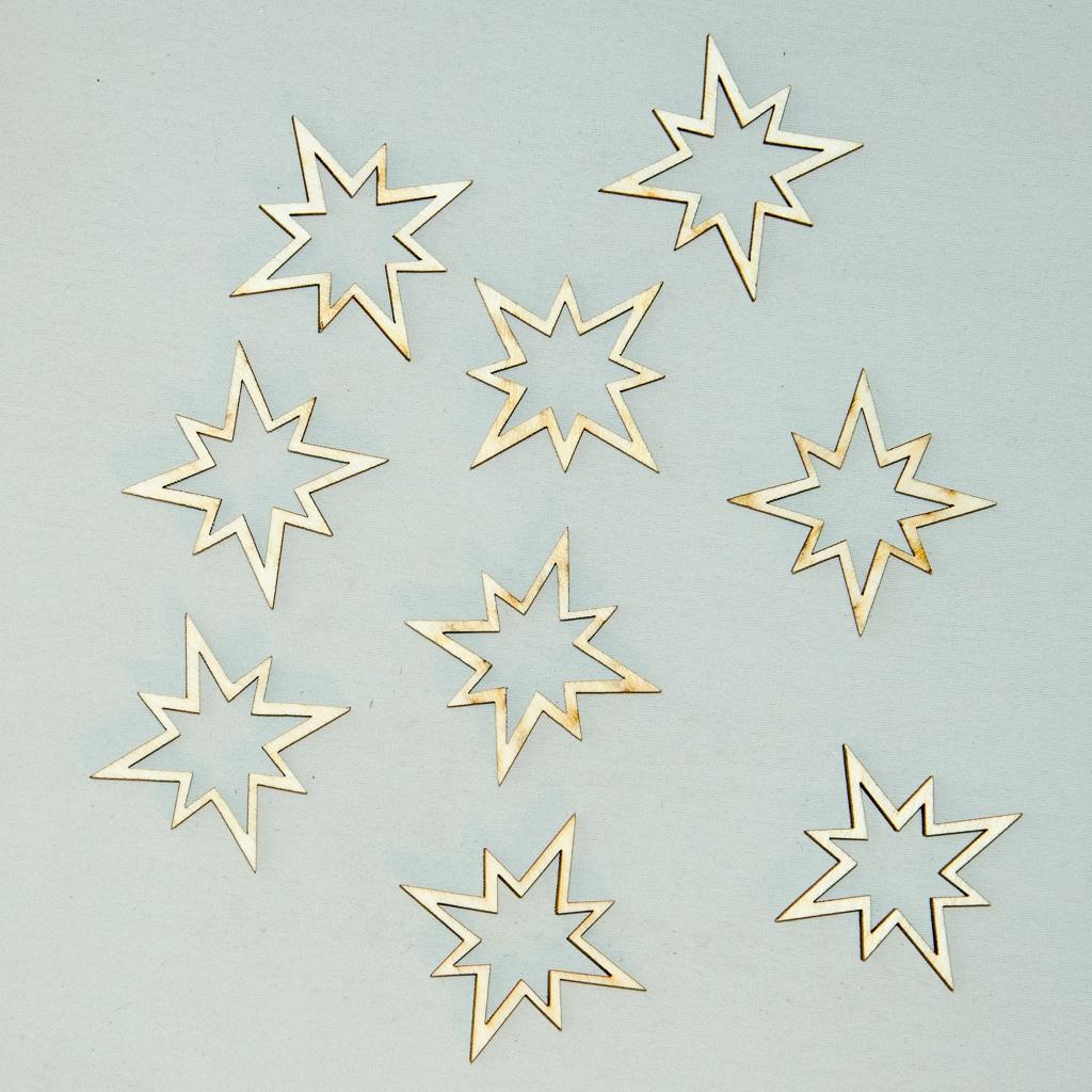 Potpourri Sterne, ca. 120-teilig