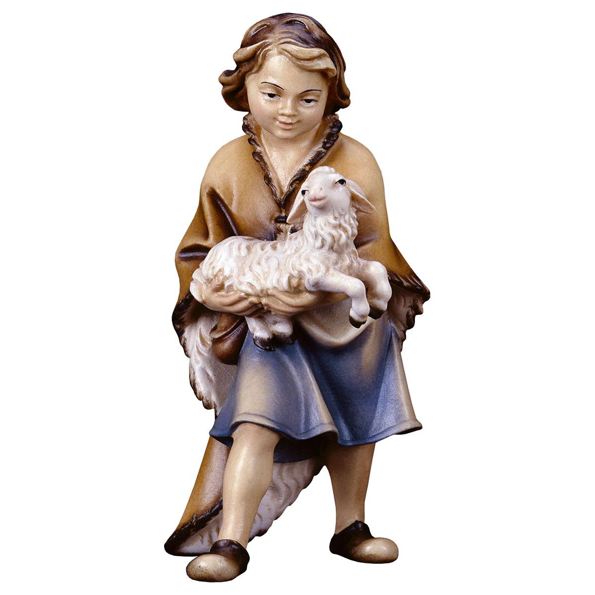 Junge mit Lamm