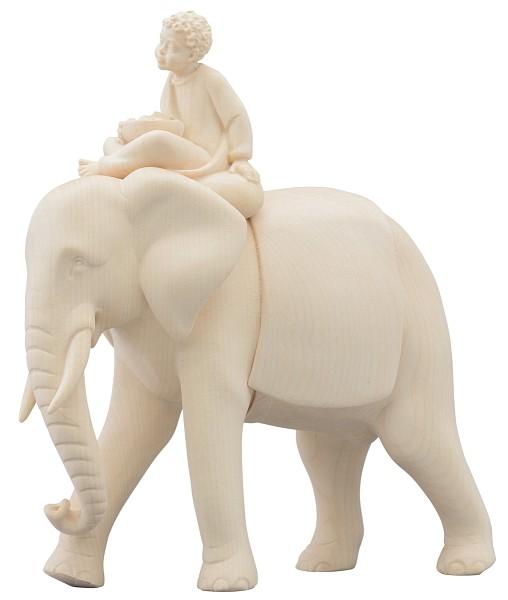 Elefantendiener sitzend