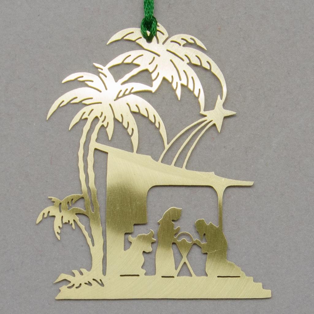 Palmenkrippe