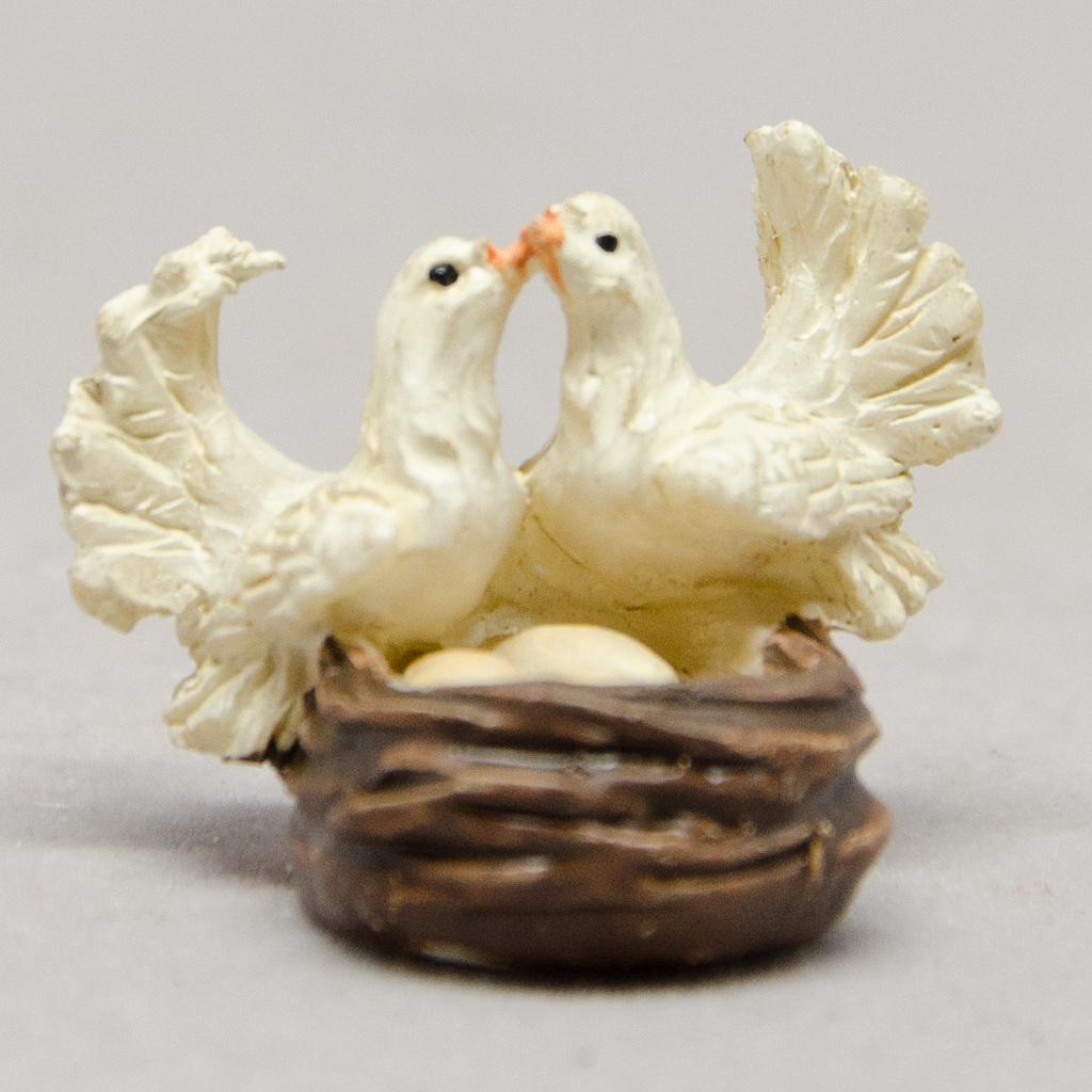 Turteltauben im Nest