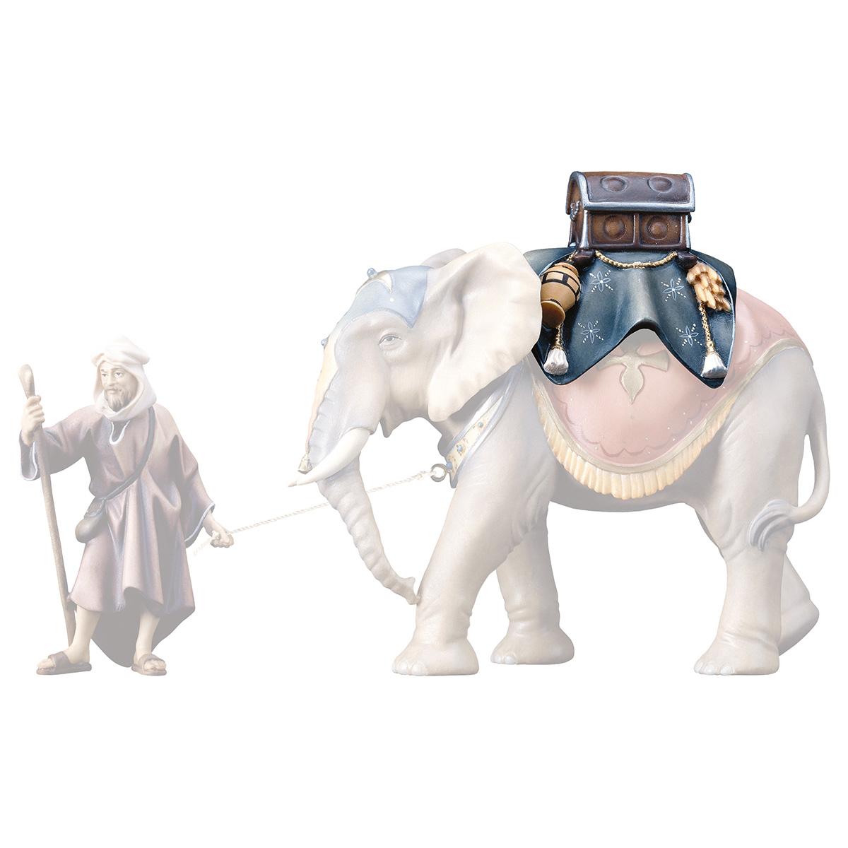 Gepäcksattel (passend zu Elefant stehend)