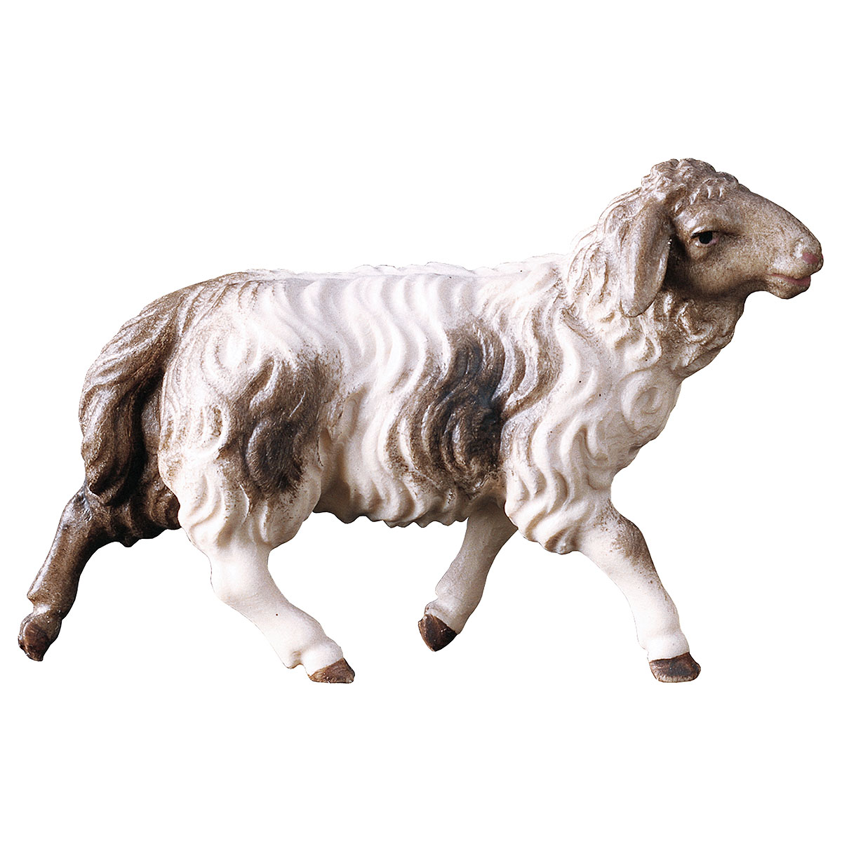Schaf laufend, fleckig