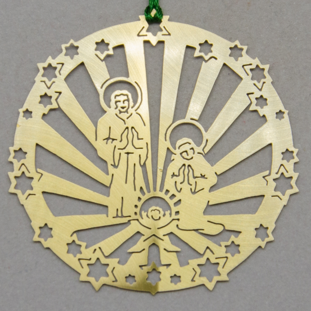 Sternenkreis mit Heiliger Familie